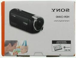 Sony HDR-CX440 HandyCam Full HD 30x Zoom Camcorder- Black, N