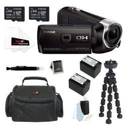 Sony HDR-PJ540/B 32GB HD Camcorder w/ built-in Projector + 6