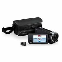 Sony HDRCX440 BSAM 1080p HD Flash Memory Camcorder Black