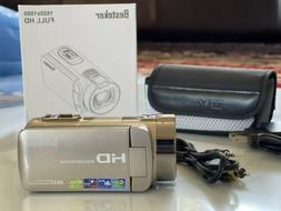 Besteker HDV-312P Video Camcorder 1920 x 1080 Full HD Gold