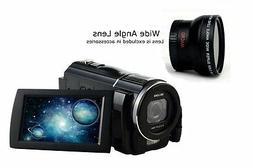 SEREE HDV-S5 Full HD 1080p 30fps Camcorder 24MP Resolution M