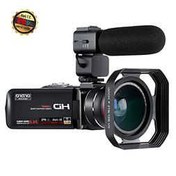 Camcorder Video Camera ORDRO Z20 FHD 1080P 30FPS Vlogging Ca