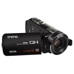ORDRO HDV-Z80 1080P Full HD Camcorder with 10X Stabilized Op