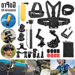Head Chest Mount Floating Monopod Accessories For GoPro Hero