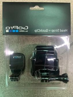 GoPro Head Strap Mount + QuickClip One Color, One Size