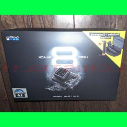 GoPro HERO 8 Black 4K Action Camera Bundle - Batteries, Hand