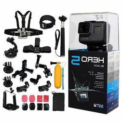 GoPro HERO5 Black +ALL You Need Accessories Kit. Hero 5 Acti