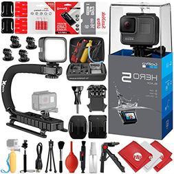GoPro HERO5 Black 4K 12MP Digital Camcorder w/ 16GB - 30PC S