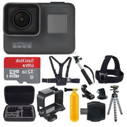 GoPro HERO5 Black Edition Action Camera/Camcorder + 32GB Del