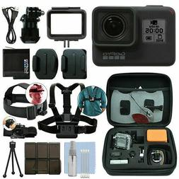 GoPro HERO7 Black 12 MP Waterproof 4K Camera Camcorder + Ult