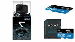 GoPro HERO7 Black 12 MP Waterproof 4K Camera Camcorder **32G