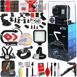 GoPro HERO7 Black 4K 12MP Digital Camcorder w/ 32GB - 40PC S
