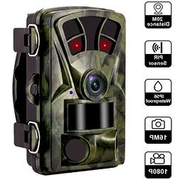 Waterproof Hunting Trail Cameras -16MP 1080P 120 Degree Wide