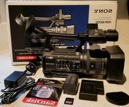 SONY HXR-NX100 Full HD NXCAM Camcorder with 32gb/128gbsd car