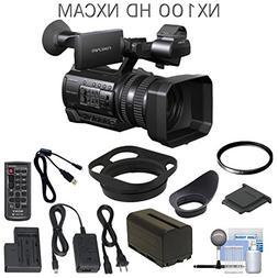 Sony HXR-NX100 Full HD NXCAM Camcorder w/ UV Filter & eDigit