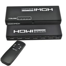 iKKEGOL 5 Port 1 x 5 HDMI Switch Switcher Selector Splitter