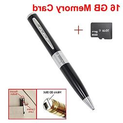 iMeshbean® 16GB Mini Cam Pen HD Surveille Camera Camcorder