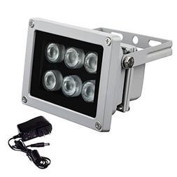 IR Illuminator 850nm 6pcs Array IR Lights Infrared Illuminat
