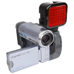 LED IR Night Vision Video Light for Camcorder