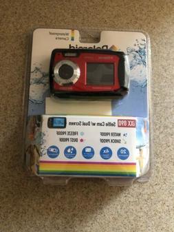 Polaroid iXX 090 20MP Waterproof Digital Camera - Red