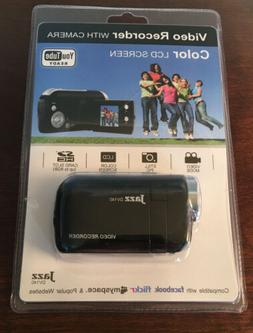 "JAZZ DV140 VIDEO CAMCORDER AND HYBRID CAMERA BLACK 1.44"" LCD"