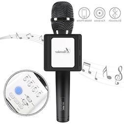 Karaoke Microphone, Besteker Handhold Wireless Bluetooth Spe