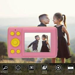 Kid Digital Camera 2.4 Inch HD Screen 16MP Anti-Shake Face D