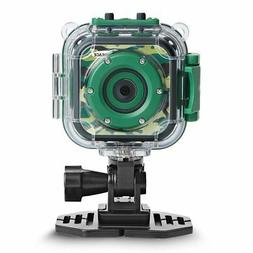 DROGRACE Kids Action Camera Waterproof Digital Video HD 1080