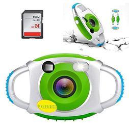 KEBIDU Kids Camera Digital Children Cameras Mini 1.44'' Inch