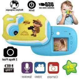 Kids Digital Camera 2MP Video Camcorder Children Christmas X