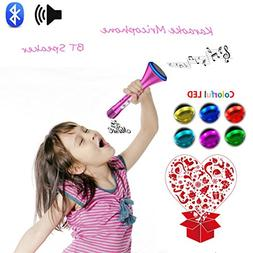KOMVOX Kids Karaoke Machine,Sing Alone Kids Microphone For G