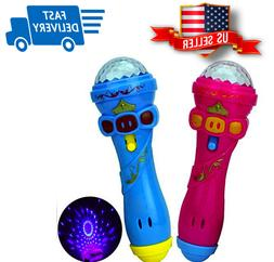 Kids Toy Karaoke Fun Light-Up & Play Toy Microphone - Assort