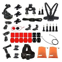 Sports Accessories Kit for Akaso EK7000/Fitfort/Campark act7