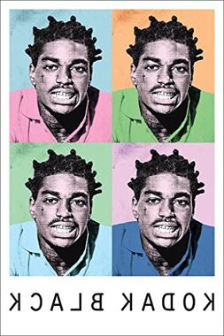 Kodak Black Poster 24in x 36in Hip Hop Trap Rapper