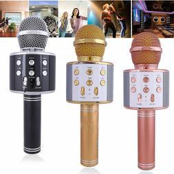KTV- WS858 Wireless Karaoke Handheld Microphone USB Player B