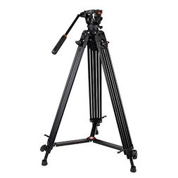 COMAN KX3636 Professional Video Tripod Heavy Duty Aluminum 7