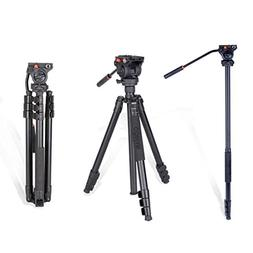 COMAN KX3939 Video Tripod with 360 Fluid Head for Camcorder