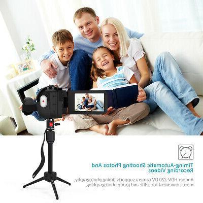 Digital Camcorder 1080P 24MP ZOOM Night Vision