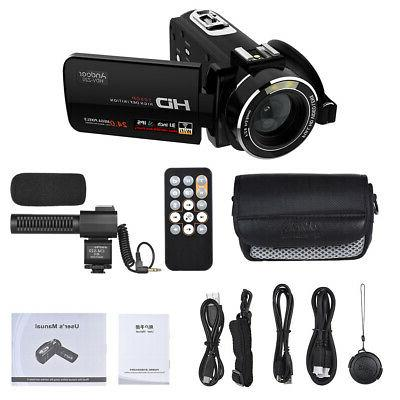 Andoer WiFi Video Camcorder O8T5