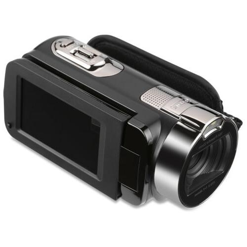 1080P Digital Video Camera TFT 24MP Zoom AV Night