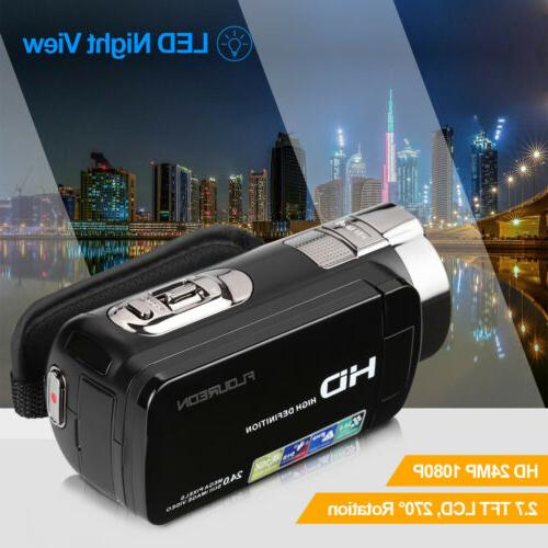 1080P Camcorder Digital Video Camera AV Night