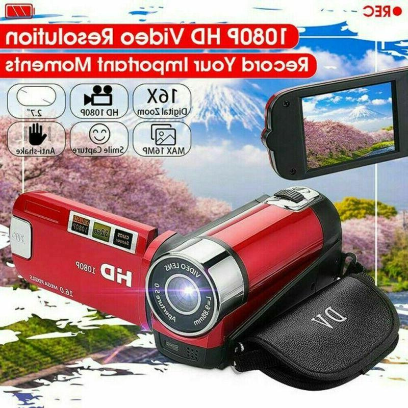 1080P Digital Video TFT LCD 16x Zoom AV