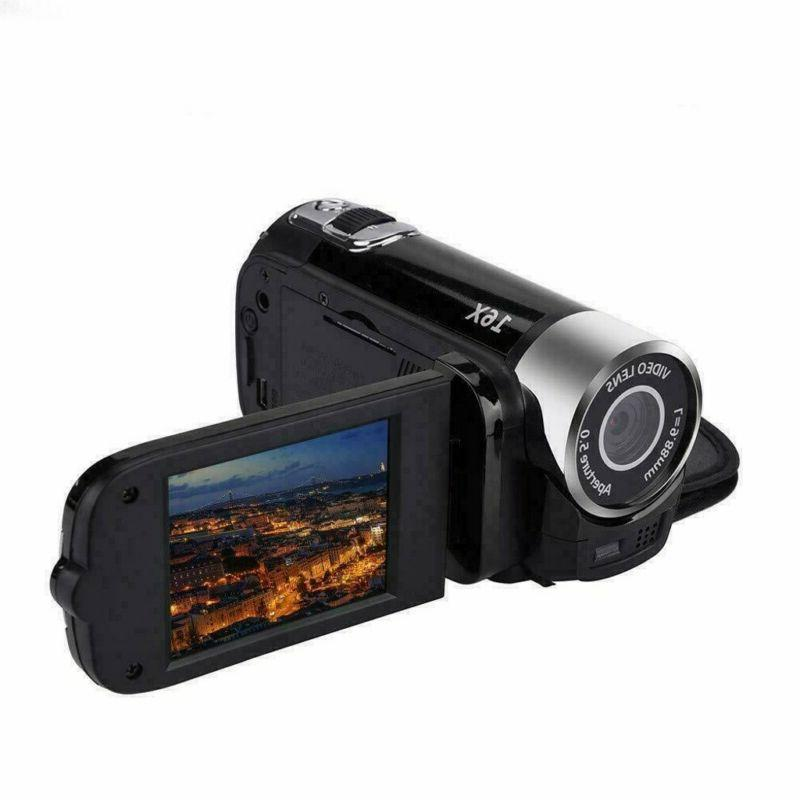 1080P Video Camera 24MP LCD 16x Zoom DV AV