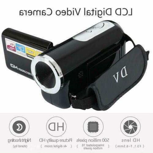 1080P HD Camcorder Video TFT 24MP AV Night Vision