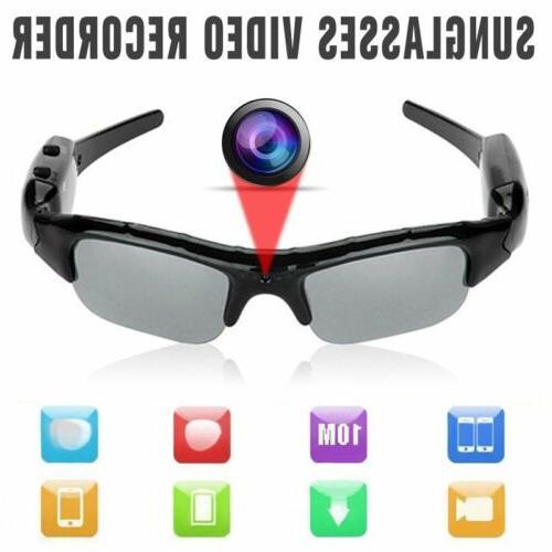 1080P HD Hidden Spy Camera Sunglasses Glasses Digital Audio