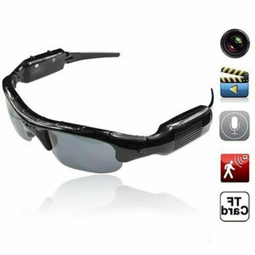 1080P HD Hidden Spy Camera Sunglasses Audio Video Recorder D