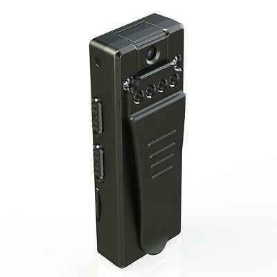 Mini Body Motion HD Video Cam Black
