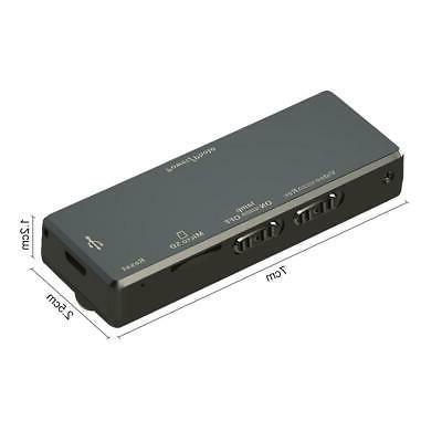 Mini Camera Motion Camcorder Video IR Night Cam Black