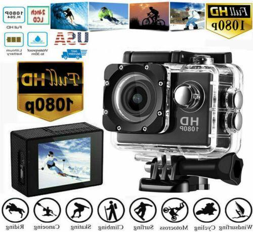 1080p ultra hd sport action camera dvr