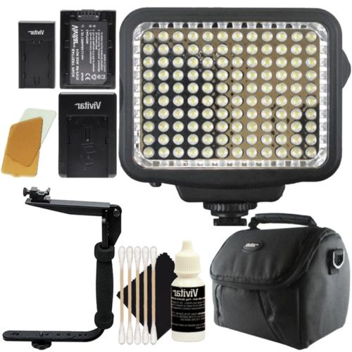 120 led light panel with accessory kit